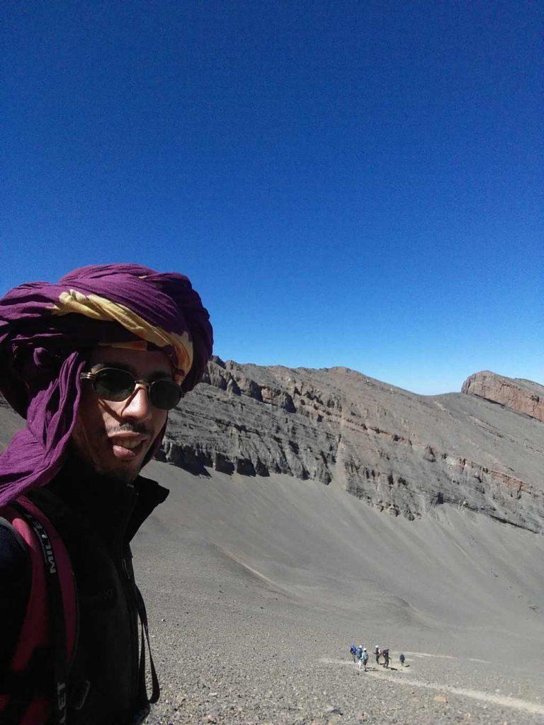 Aissa au M'Goun, Trek au Maroc