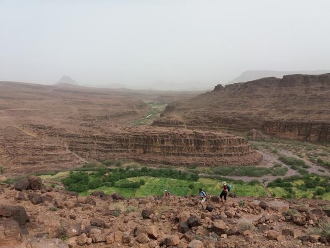 plateau taggourt du voyage du jbel sagrho au maroc