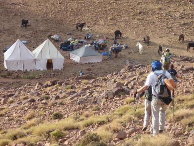 arrivée a marrakech du voyage au maroc