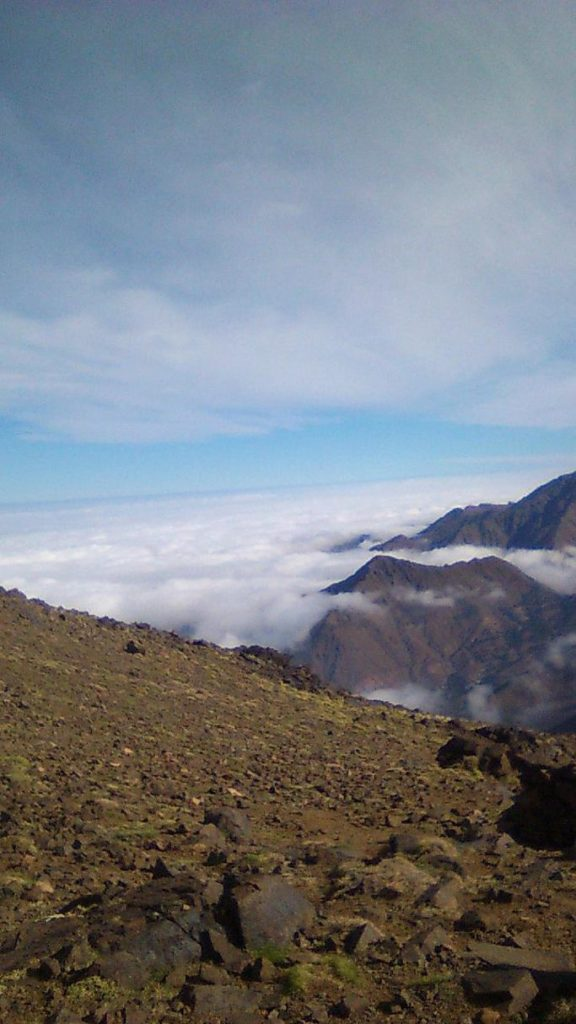 paysage 2 vallee et village du voyage au maroc