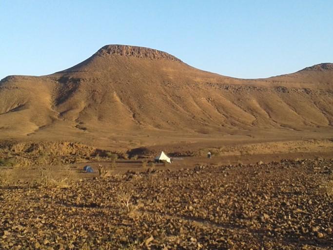 randonnee dans le desert du voyage au maroc