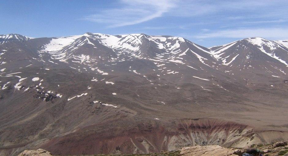 traversée du m'goun nord sud du voyage au maroc atlas