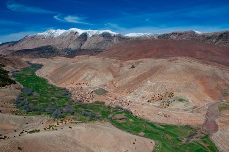 valle heureuse du voyage au maroc