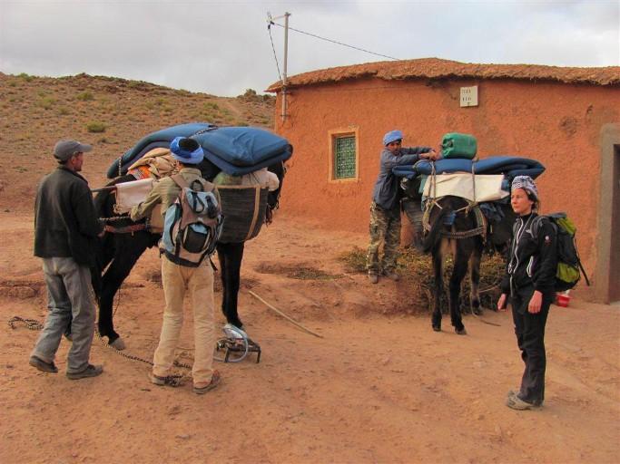 vallee et village toubkal du voyage au maroc