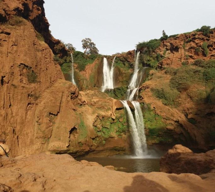 cascade ouzoud du voyage au maroc