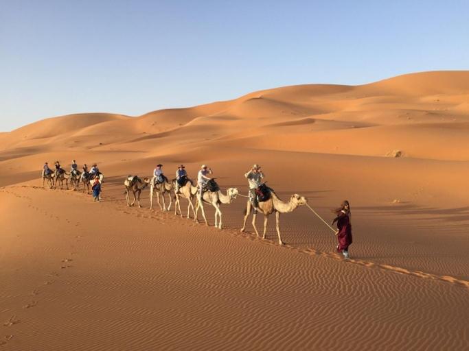 Désert de Merzouga villes imperiales du voyage au maroc 10jours