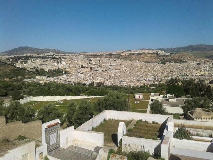 paysage2 villes imperials du voyage au maroc 10jours